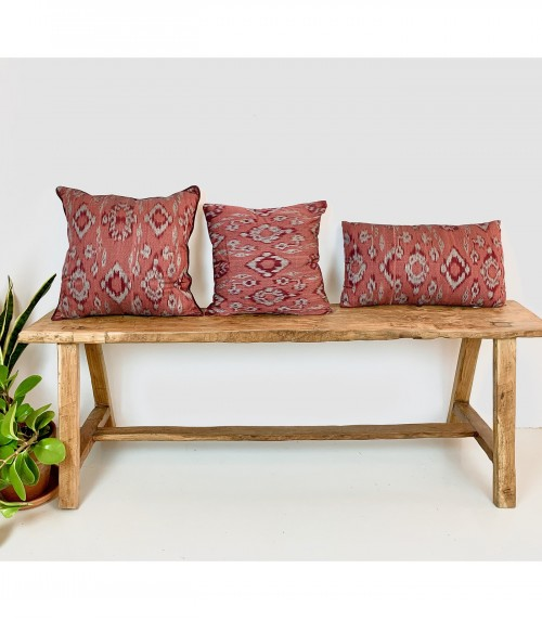 Ikat Wine Cushion