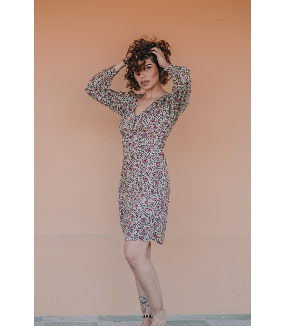 Vestido Inoa Bunga