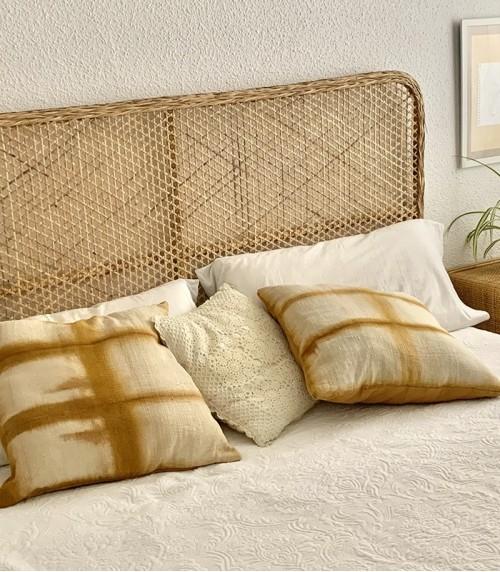 Cabecero de bambú