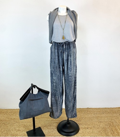 Lesta Grey Trousers