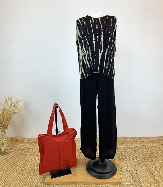 Zubon Black Trousers