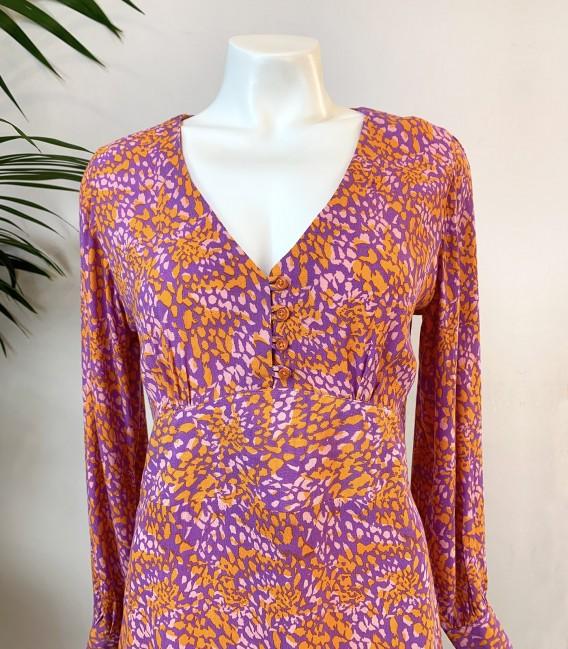 Vestido Inoa Purple